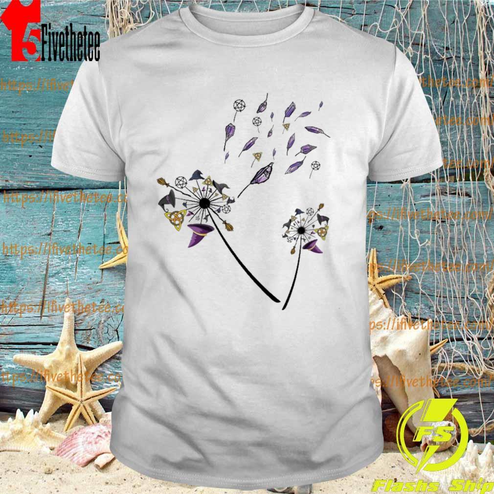Witch Dandelion Halloween 2021 Shirt Masswerks Store