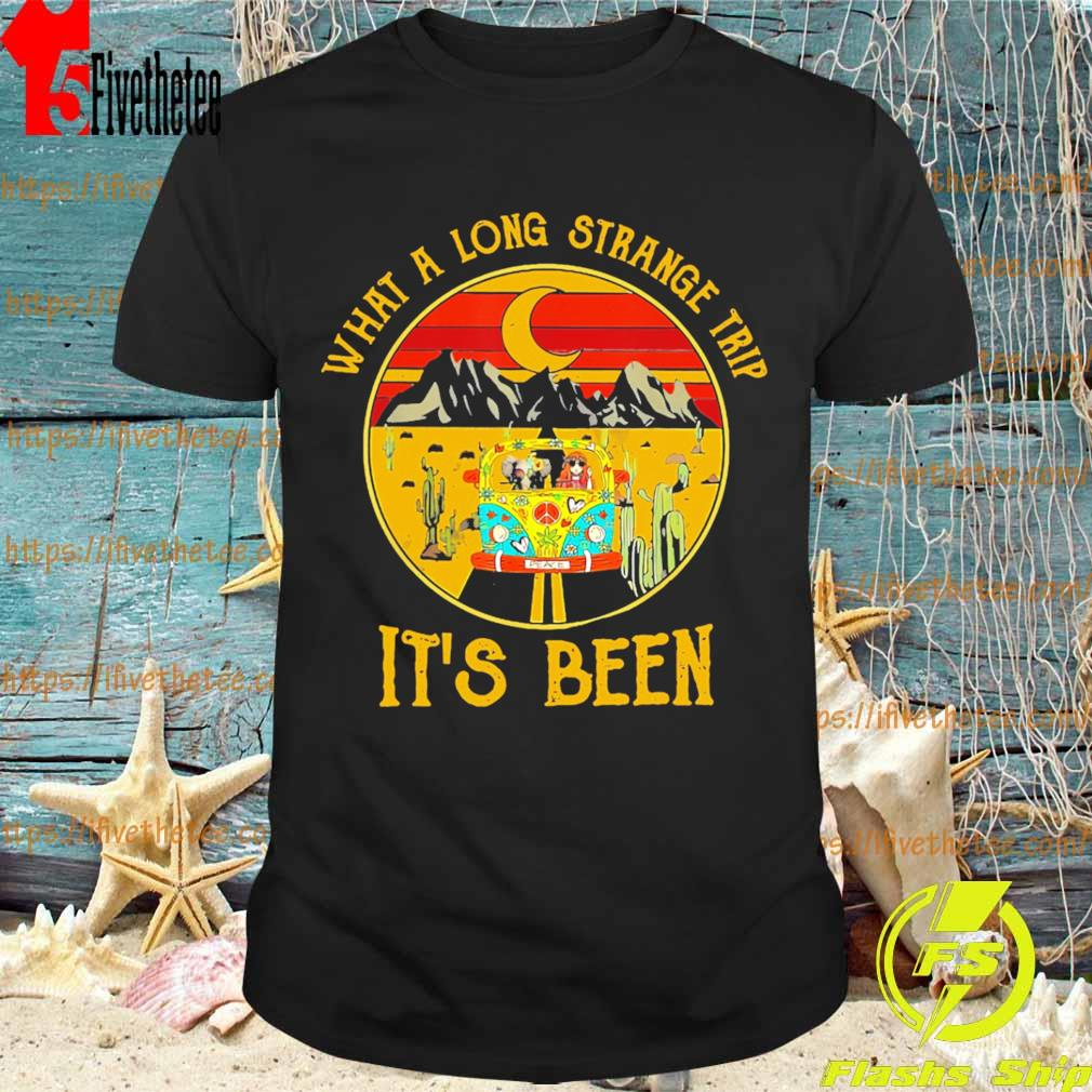 Hippie what a long strange trip it's been vintage shirt