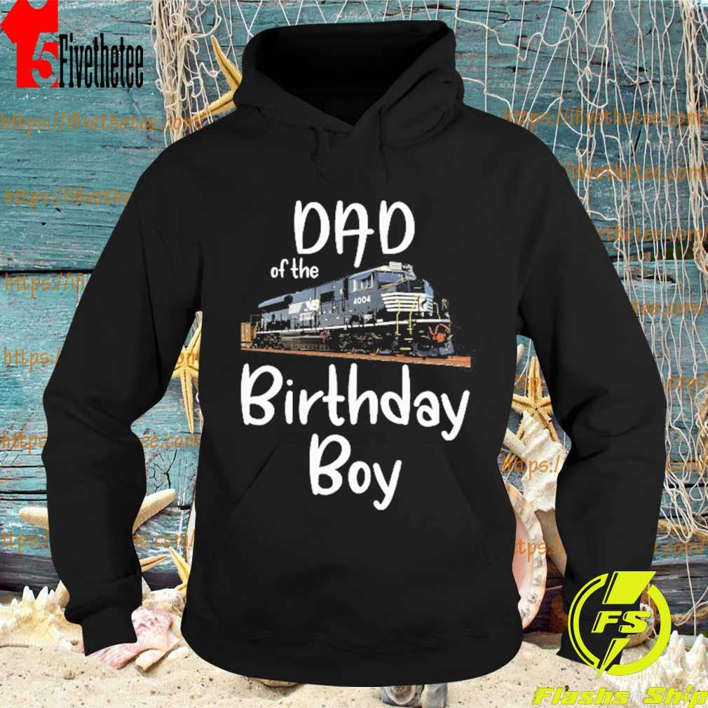 NS 4004 Dad of the birthday boy s Hoodie