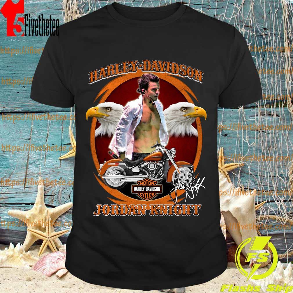 Harley Davidson Jordan Knight shirt