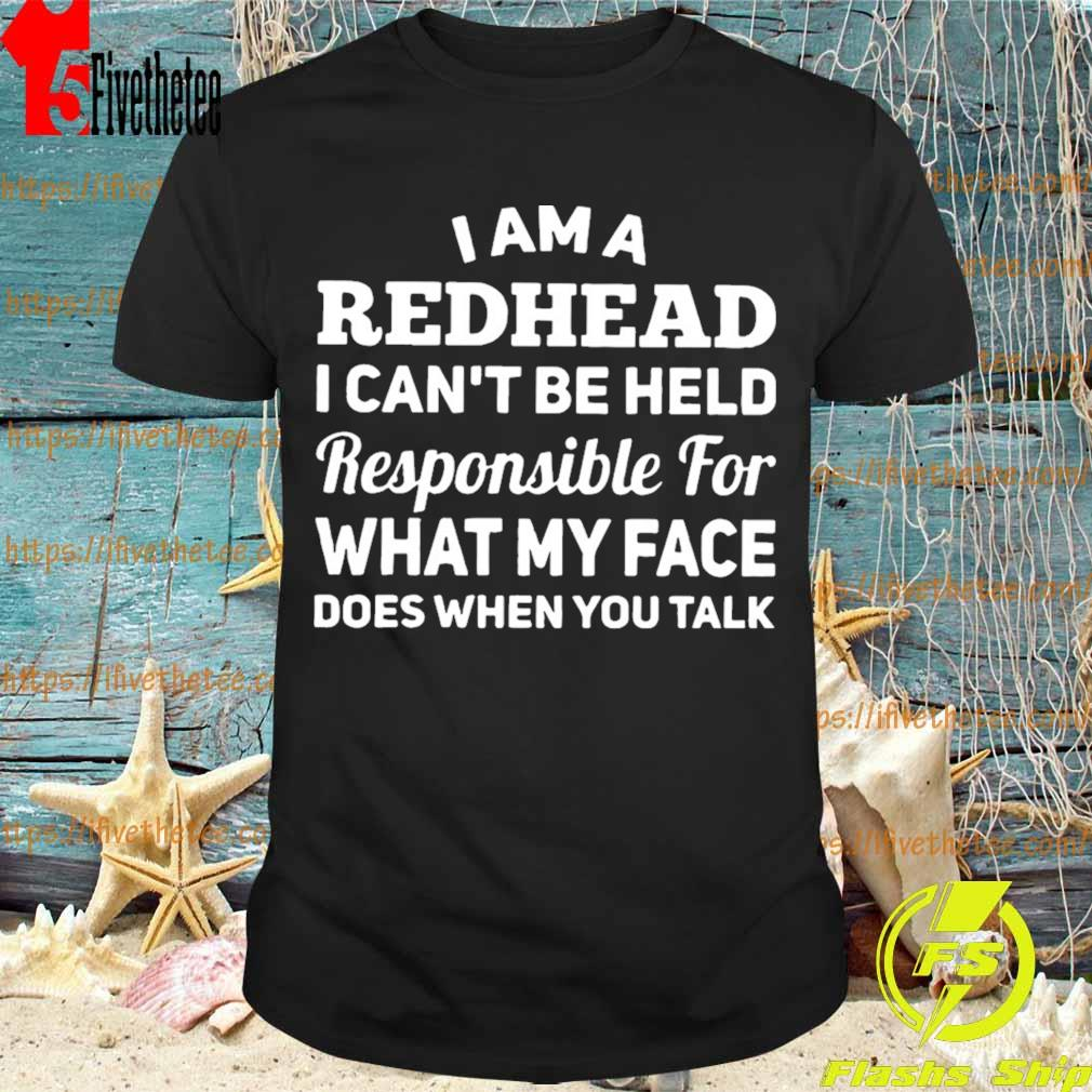 Mens Long Sleeve Cotton Hoodie I Cant Be Held Responsible for What My Face Does When You Talk 1 Sweatshirt