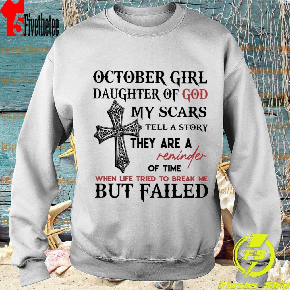 Life Can/_t Break Me tee March Guys Unisex Sweatshirt
