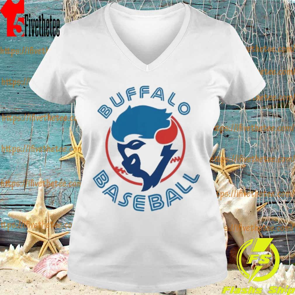 Buffalo baseball logo s V-neck