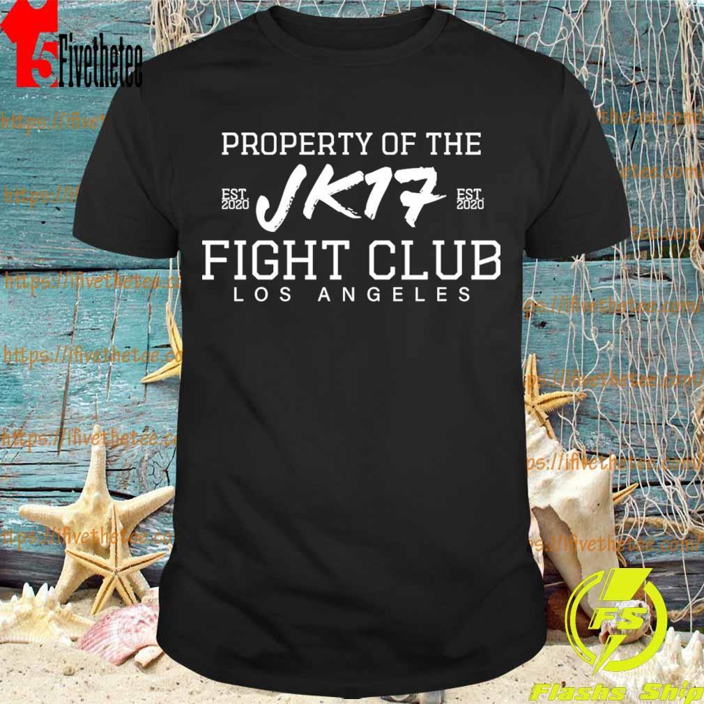 Joe Kelly Property of the Jk17 fight club Los Angeles shirt