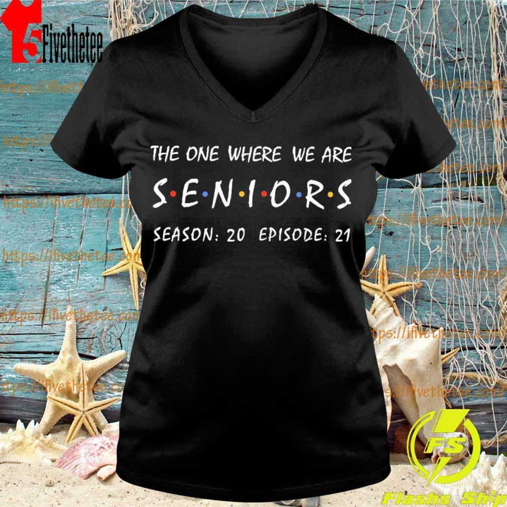 The one where We are Seniors season 20 episode 21 s V-neck