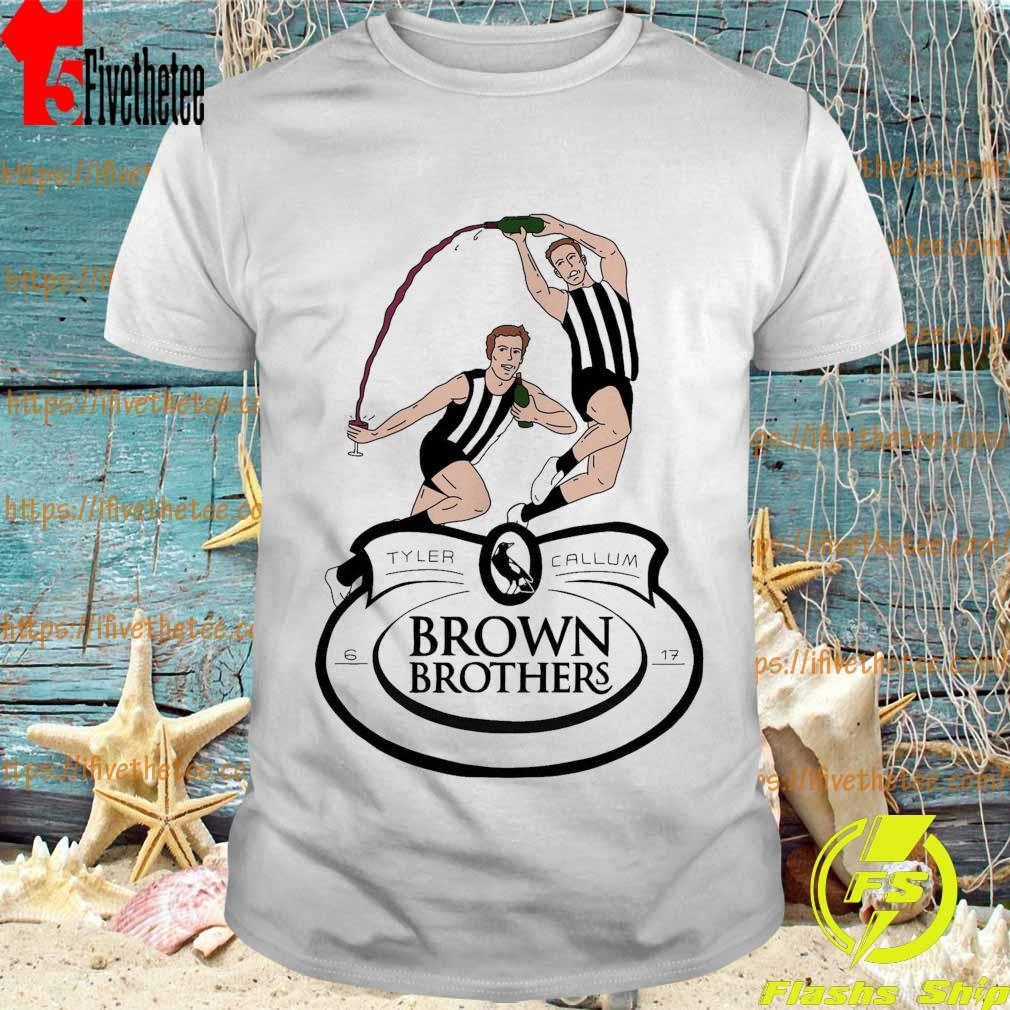 Tyler and Callum Brown Brothers shirt