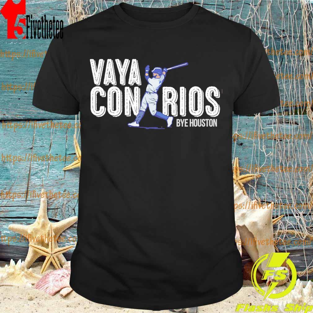 Vaya Con Rios Bye Houston shirt