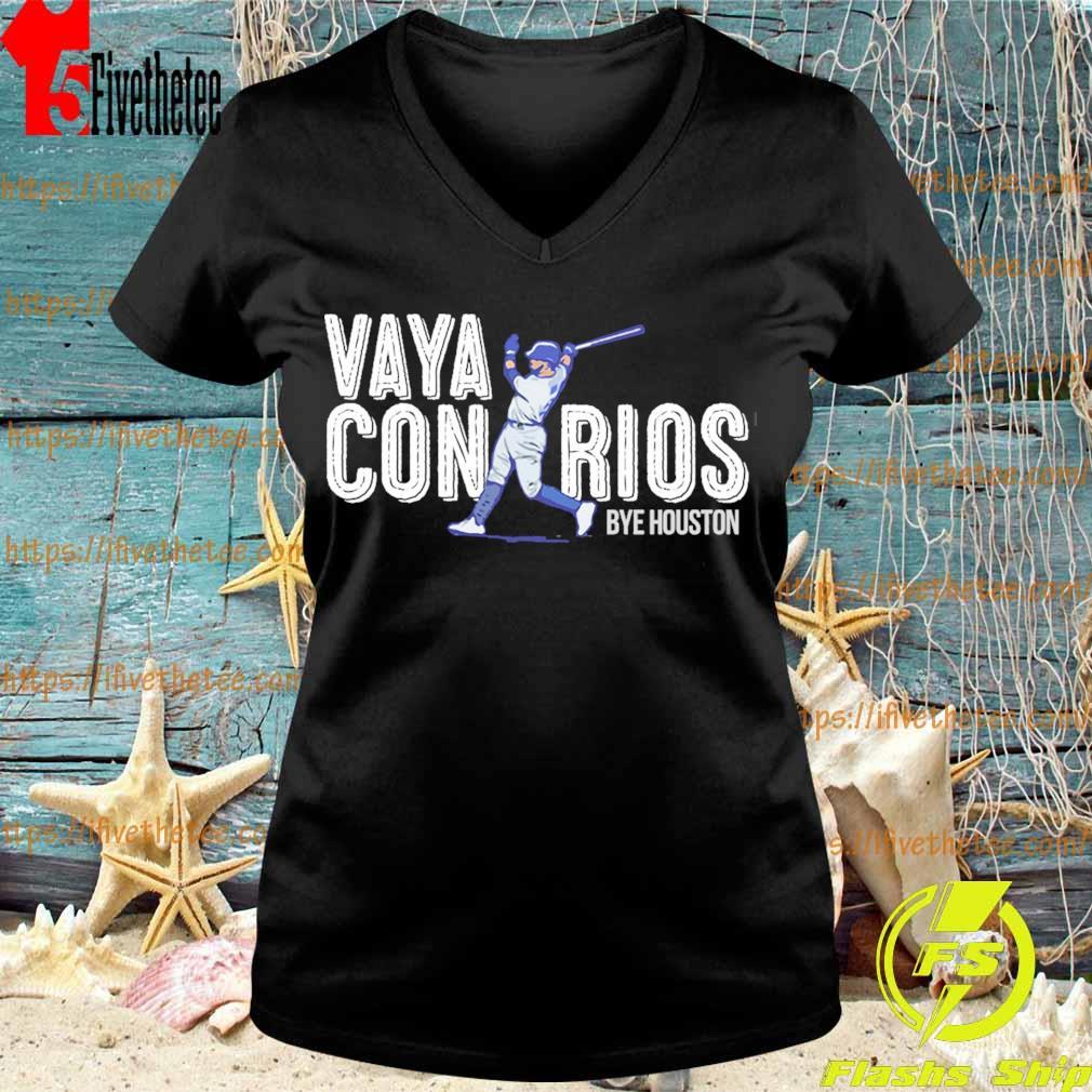 Vaya Con Rios Bye Houston s V-neck