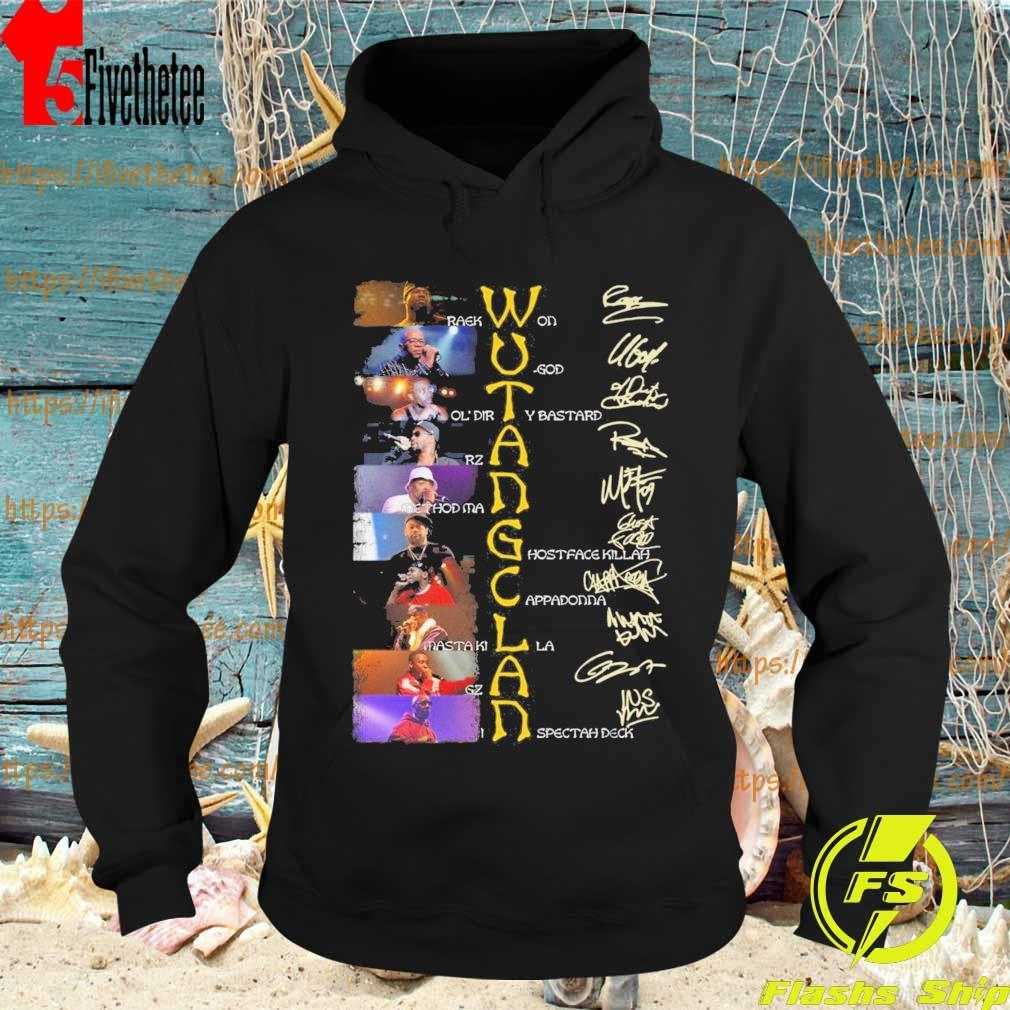 Wu Tang Clan character signature s Hoodie