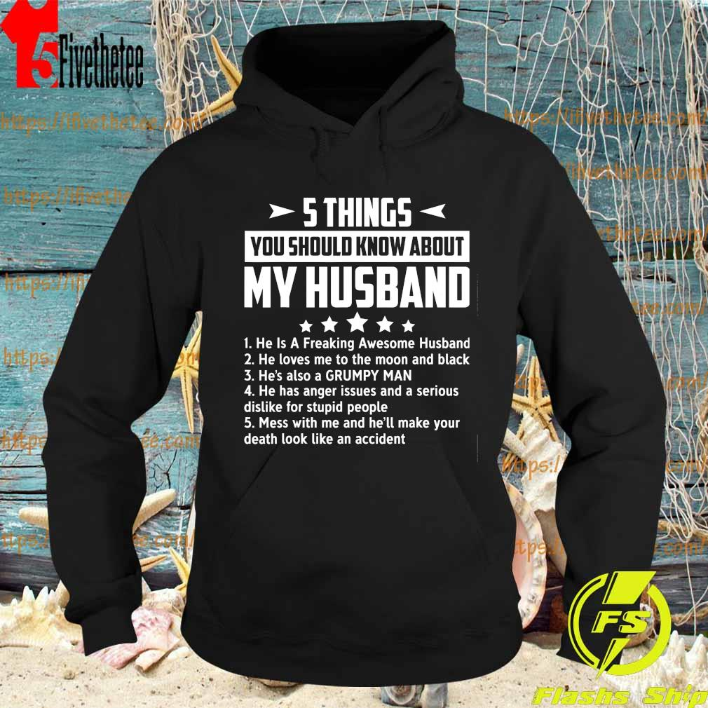 5 things You should know about My husband s Hoodie