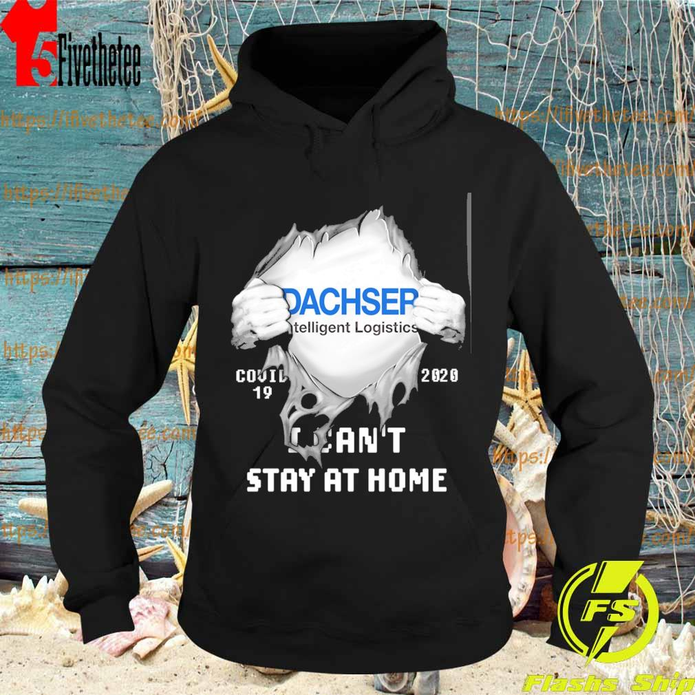 Blood inside me Dachser covid 19 2020 I can't stay at home s Hoodie