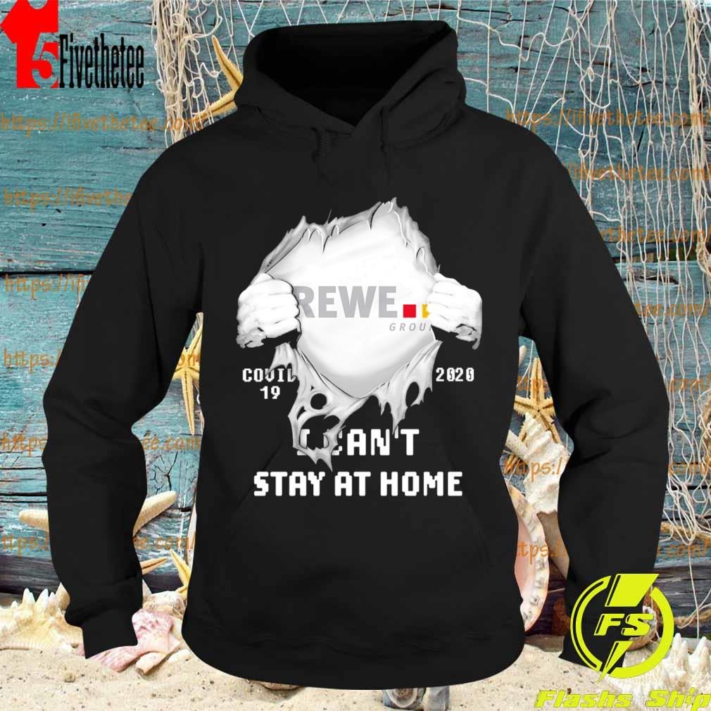 Blood inside me REWE covid 19 2020 I can't stay at home s Hoodie