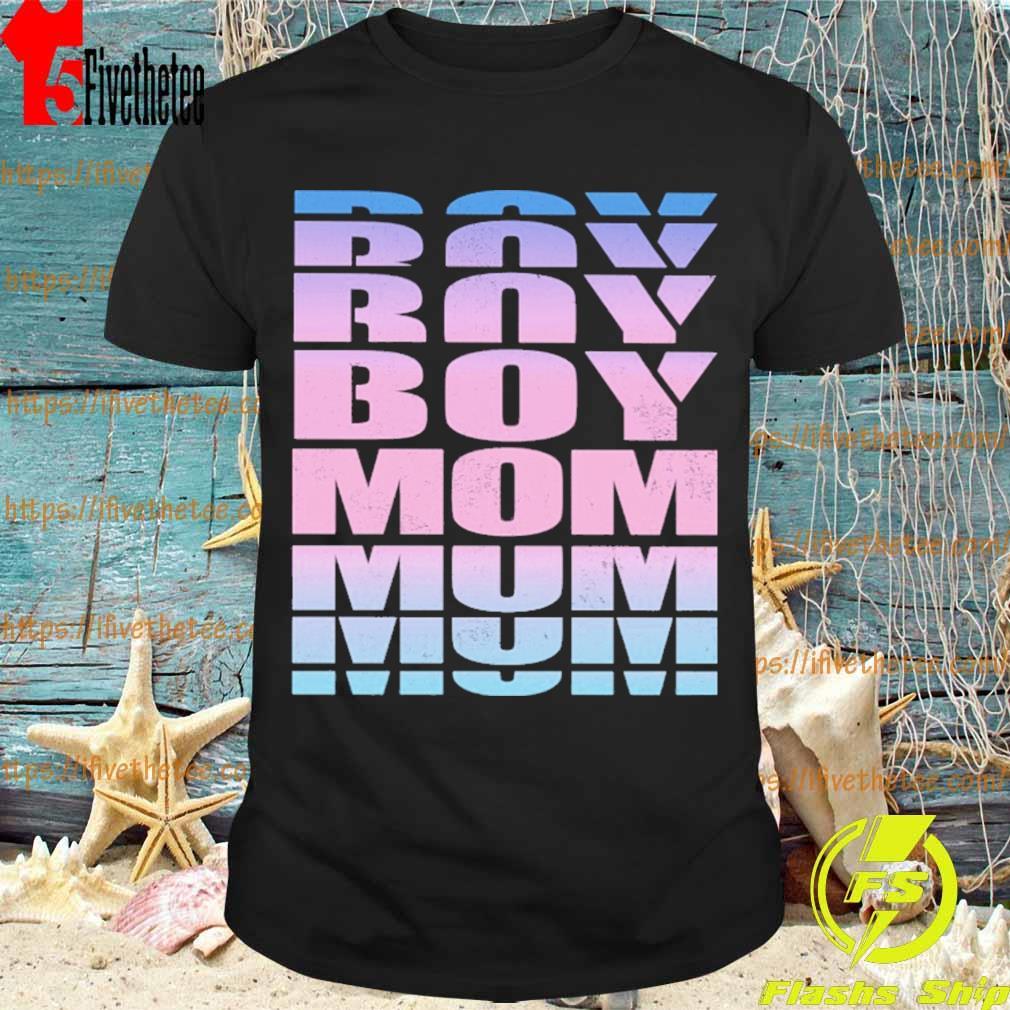 Boy Mom retro shirt