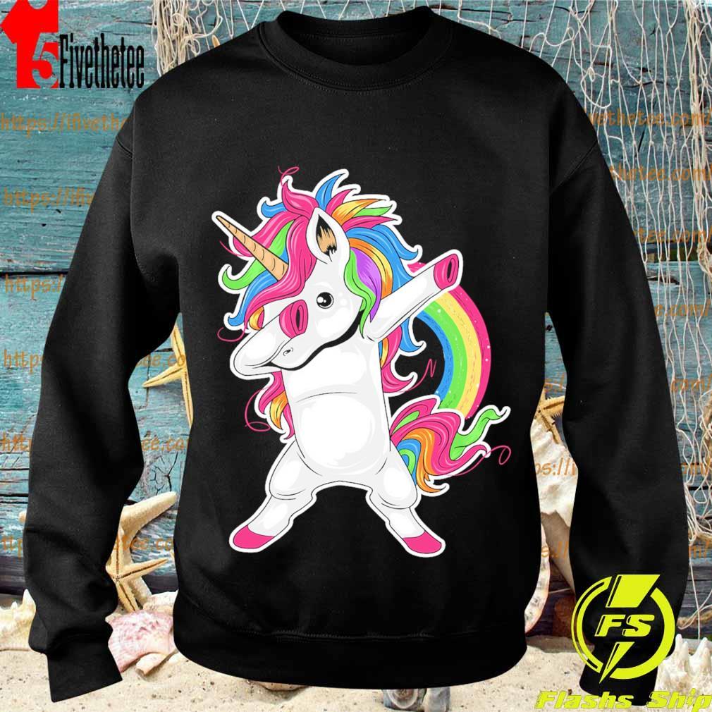 Cute Unicorn Dabbing pride s Sweatshirt