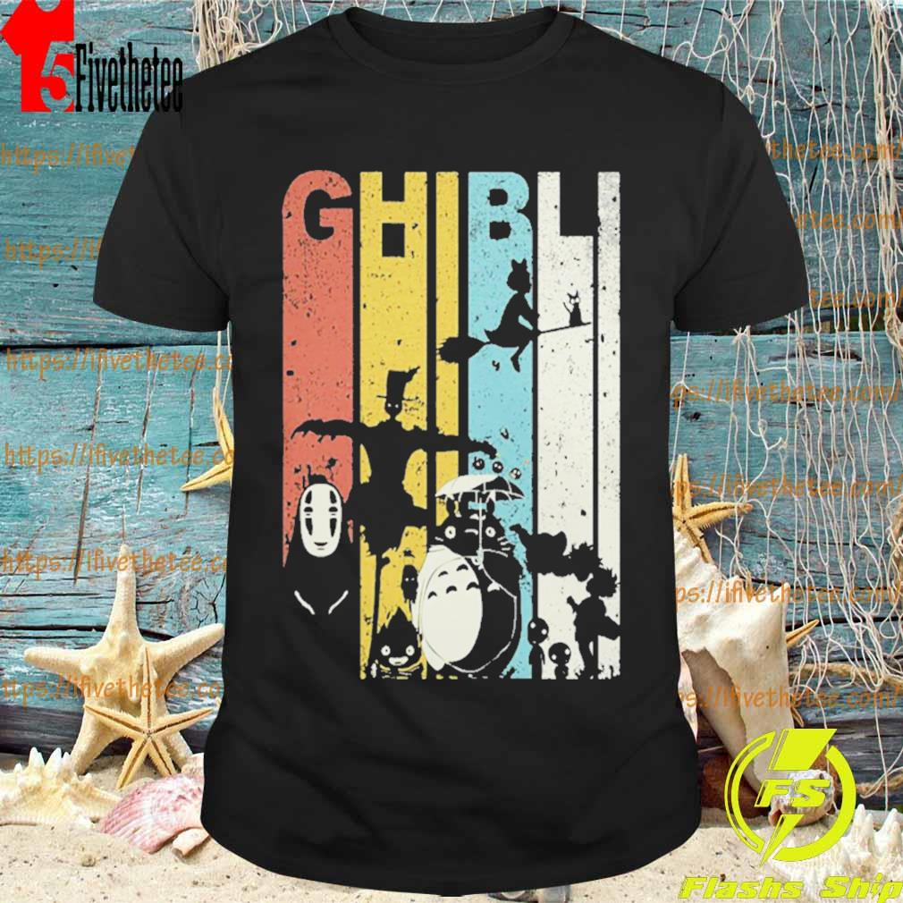 Ghibli Character vintage Halloween shirt
