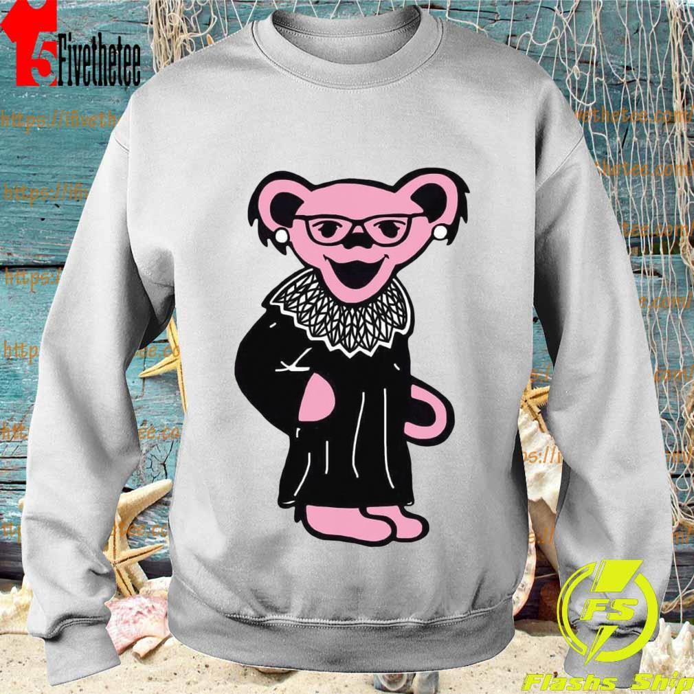 Grateful Dead Bear RBG Ruth Bader Ginsburg s Sweatshirt