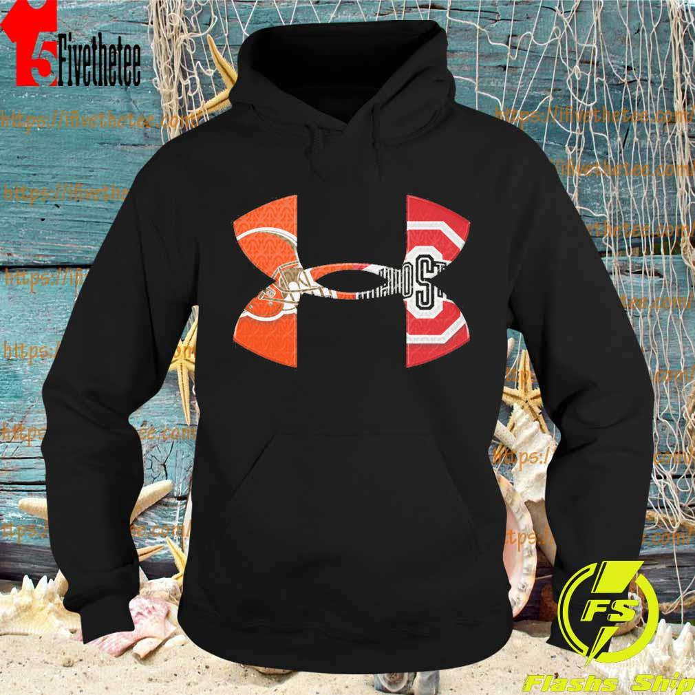Under Armour Cleveland Browns Vs Ohio State Bucket s Hoodie