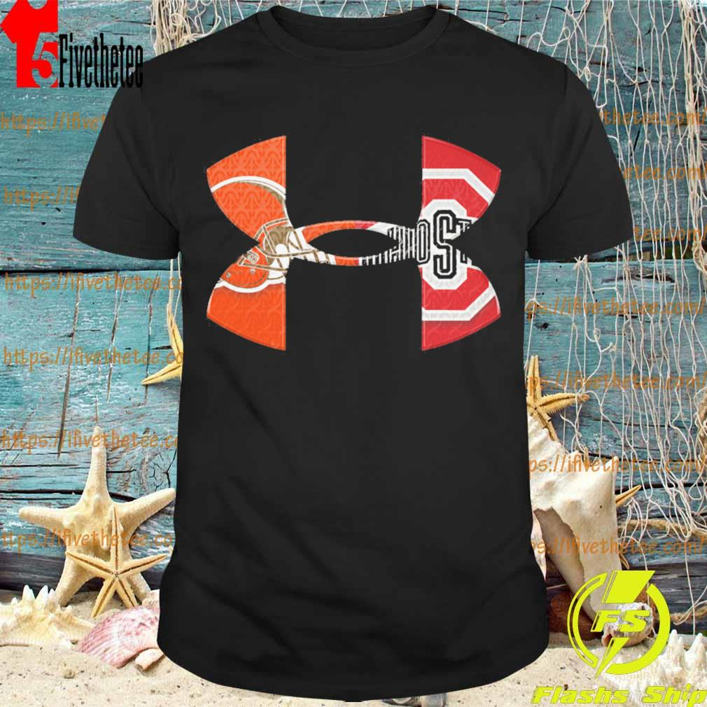 Under Armour Cleveland Browns Vs Ohio State Bucket shirt