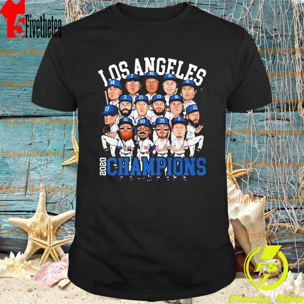 Chibi Los Angeles 2020 Dodgers World Series Champions shirt