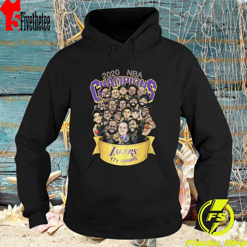 Chibi Los Angeles Lakers 2020 NBA Champions s Hoodie