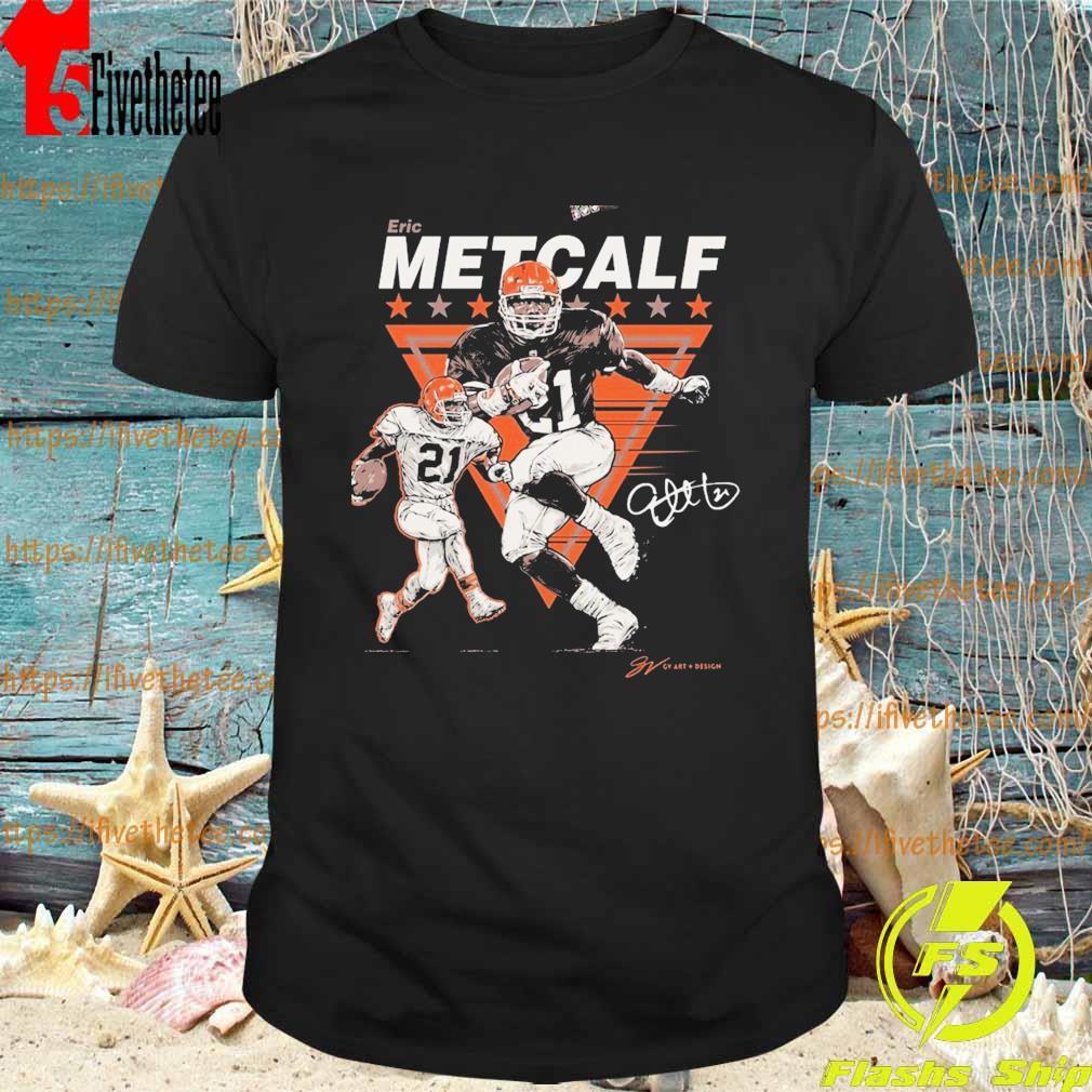 Eric Metcalf signature shirt