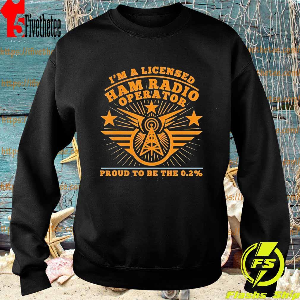 Ham Radio Operator Proud Men's and Women's s Sweatshirt