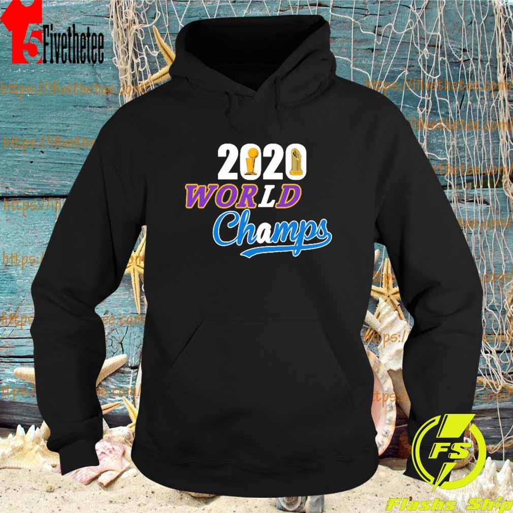 Los Angeles Dodgers Lakers 2020 World Series Champs s Hoodie