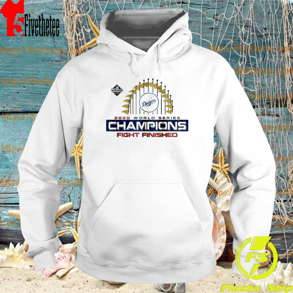 Los Angeles Dodgers World Series Champions Baseball MLB 2020 T-Shirt Hoodie