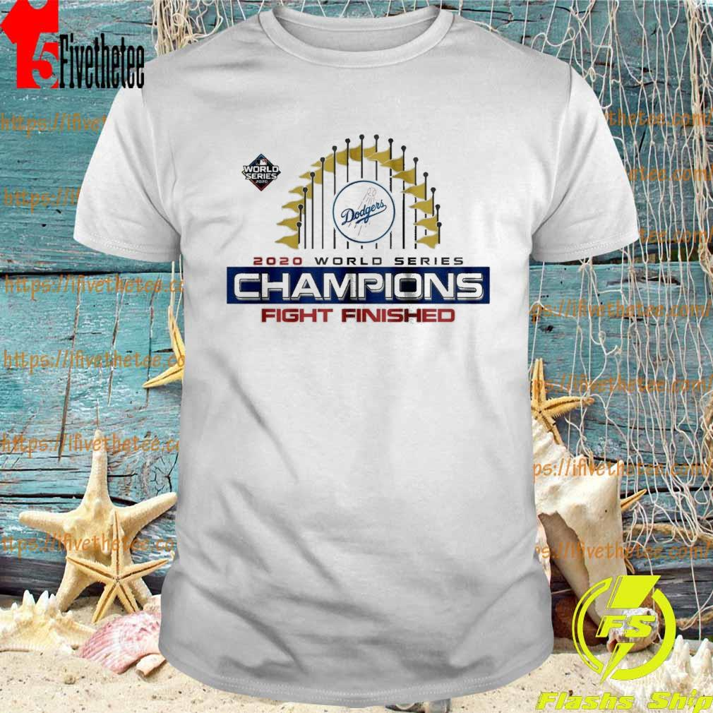 Los Angeles Dodgers World Series Champions Baseball MLB 2020 T-Shirt