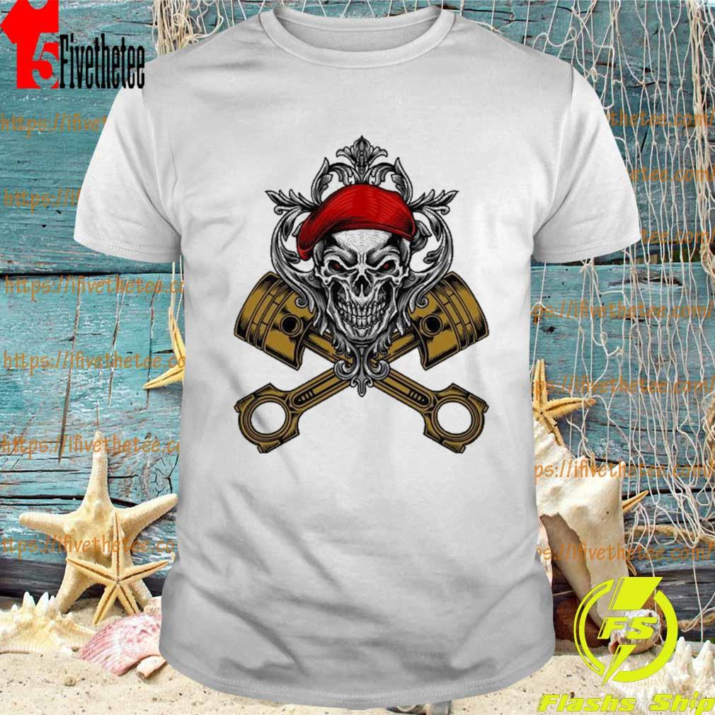 Mechanical Soldier Skull Classic T-shirt
