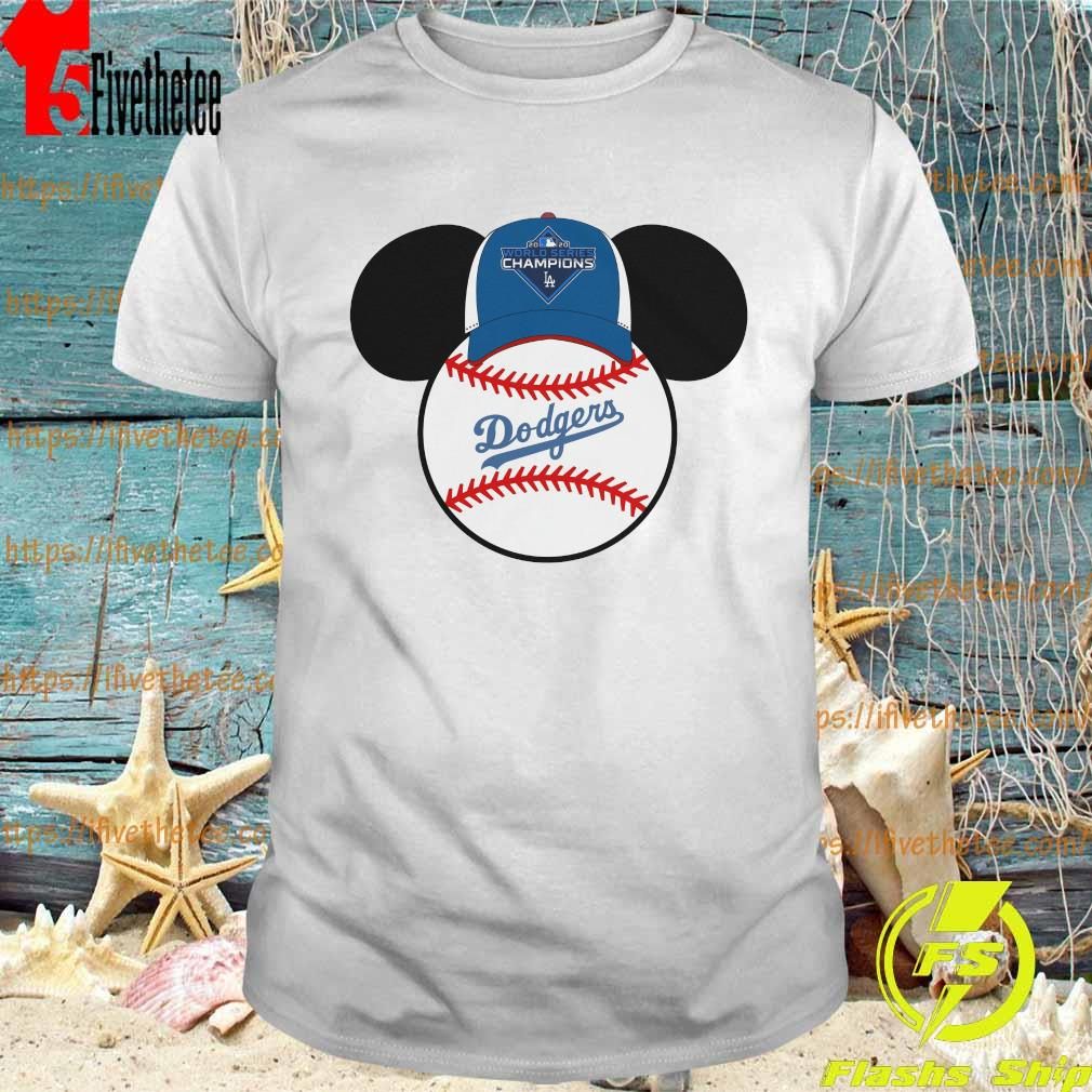Official Los Angeles Dodgers Mickey Mouse Champions 2020 MLB shirt