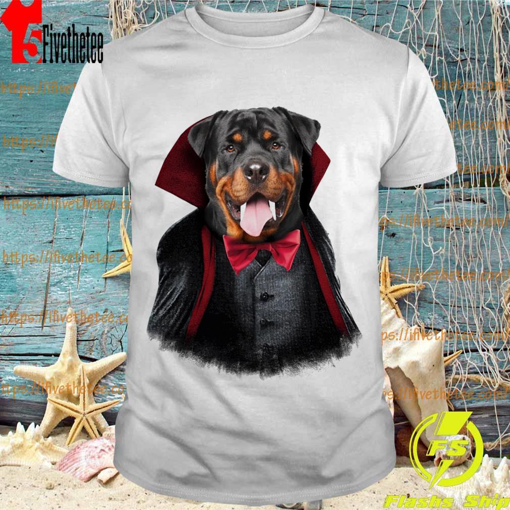 Rottweiler Dracula shirt