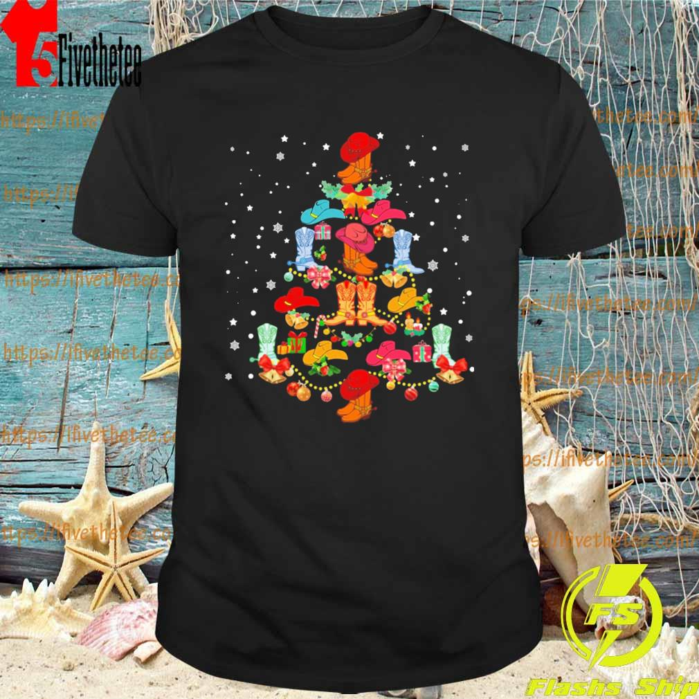 Ugly Christmas Tree Line Dance Shirt Hoodie Sweater Long Sleeve And Tank Top
