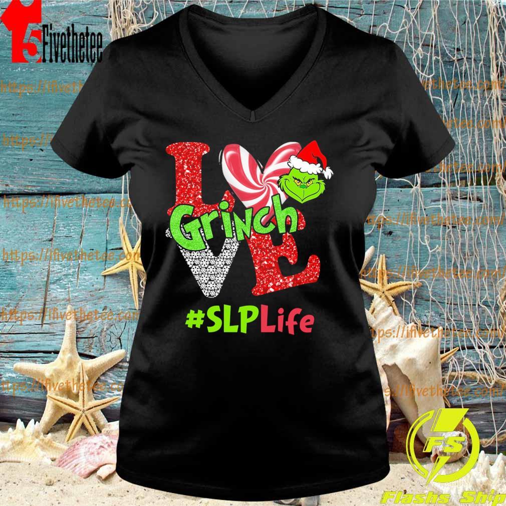 Love Grinch #SLP Life Christmas s V-neck